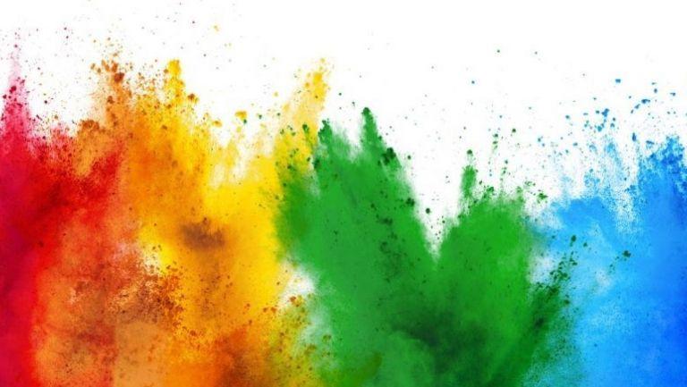 a colorful design