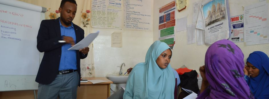 Somali health service workshop